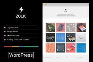 Zolio - Responsive Minimal Portfolio