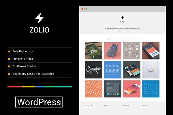 Zolio - Responsive Minimal Portfoli…