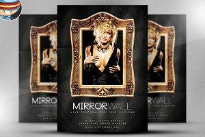 Mirrorwall Flyer Template