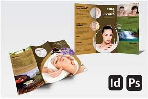 Spa Brochure Photos Graphics Fonts Themes Templates Creative - Spa brochure templates