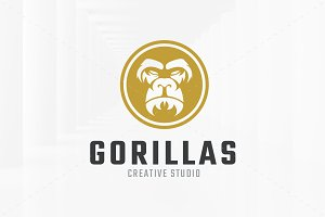 Gorillas Logo Template