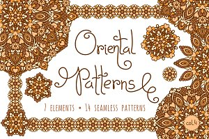 Oriental Patterns - Color Palette 4