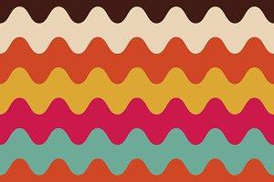 multicolor curve background
