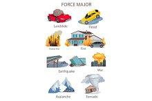 Force Majeure Natural Disaster Set