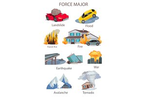 Force Majeure Natural Disaster Set