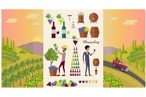 Winemaking Design Concept
