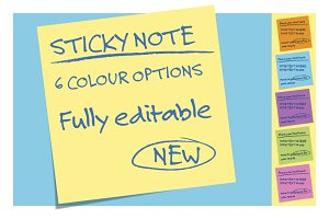 Ultimate Sticky Note - NEW