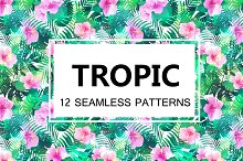 Tropical Seamless Patterns