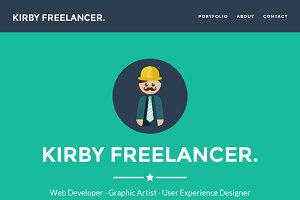 FREELANCER. theme for Kirby 2.3