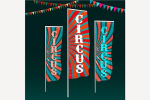 Circus Flags Image