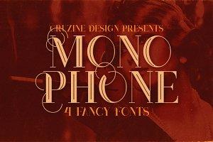 Monophone - Fancy Font