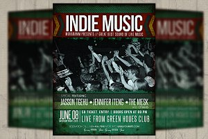 Indi Music Flyer / Poster