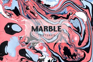 Marble. Bright textures