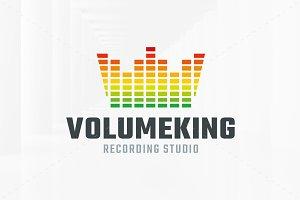 Volume King Logo Template