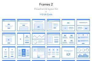 Frames 2 - Flowchart & Layout Kit