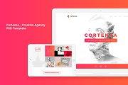 Cortenza - Creative Agency PSD