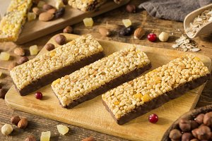 Muesli bars superfood