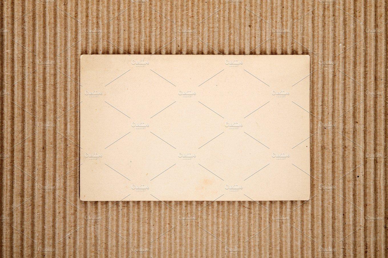 old blank postcard  abstract photos  creative market