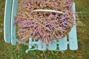 Magenta Flower in the Basket
