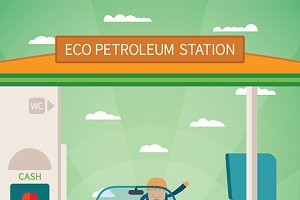 Eco fuel station