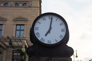 Ancient clock in Berlin
