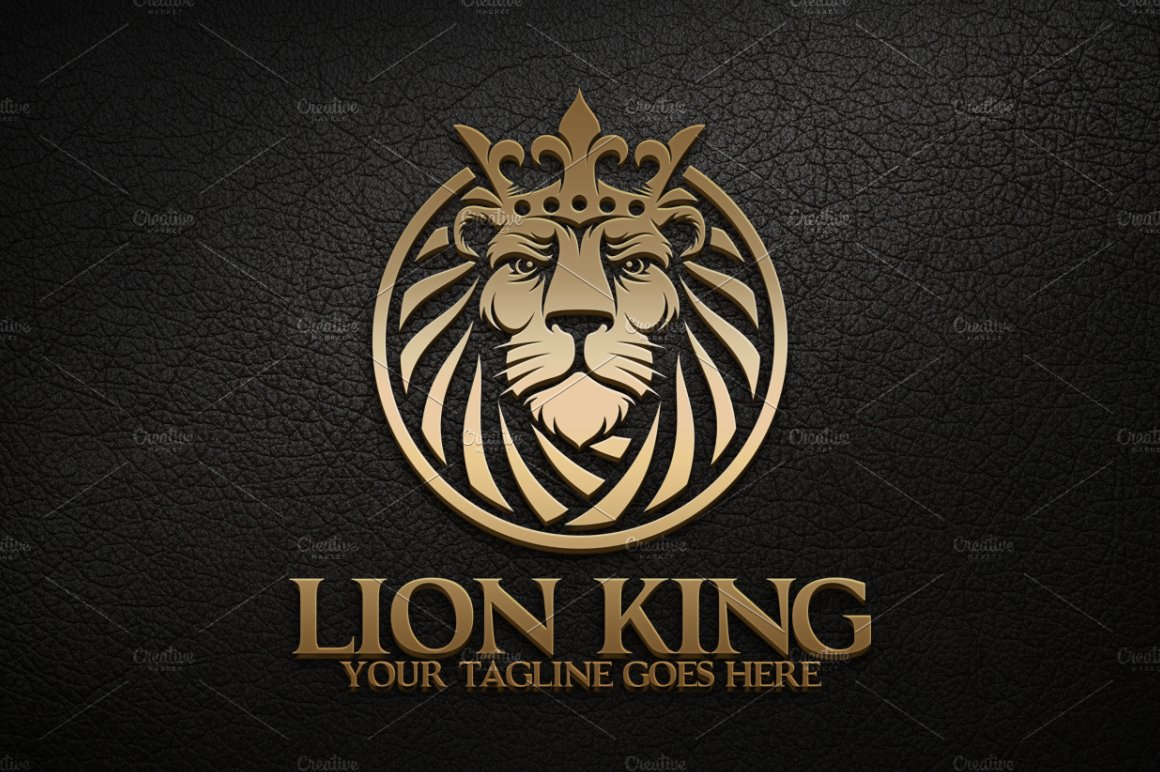 Lion King ~ Logo Templates ~ Creative Market