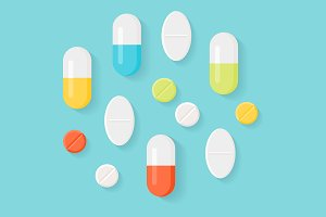 Medicine Pills Illustrations