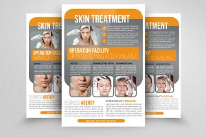 Spa & Skin Rejuvenation Flyer