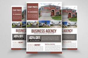 Real Estate & Property Psd Flyer