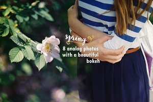 A bucket full of spring photo bundle