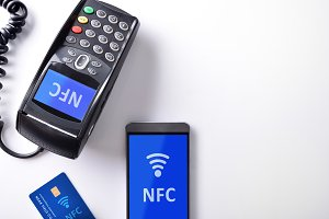 POS card and mobile isolated nfc