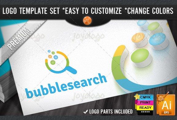 app pixel circles bubble search logo logo templates creative market