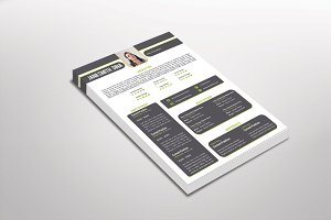 Ratoma Resume Template Design