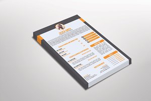 Fotomi Resume Template Design