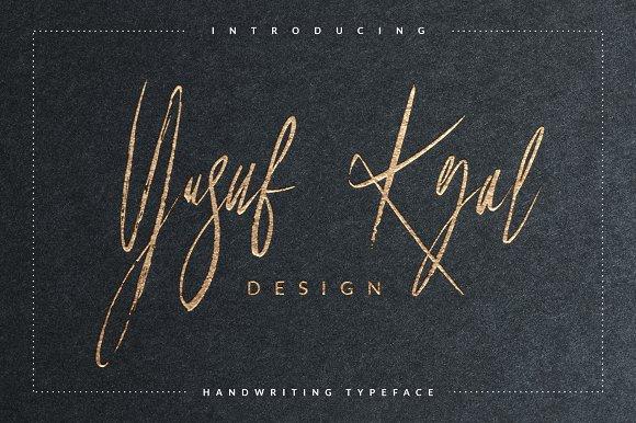 Yusuf Kral Artistica Font