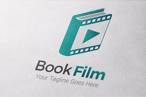 Book of Film Logo Template
