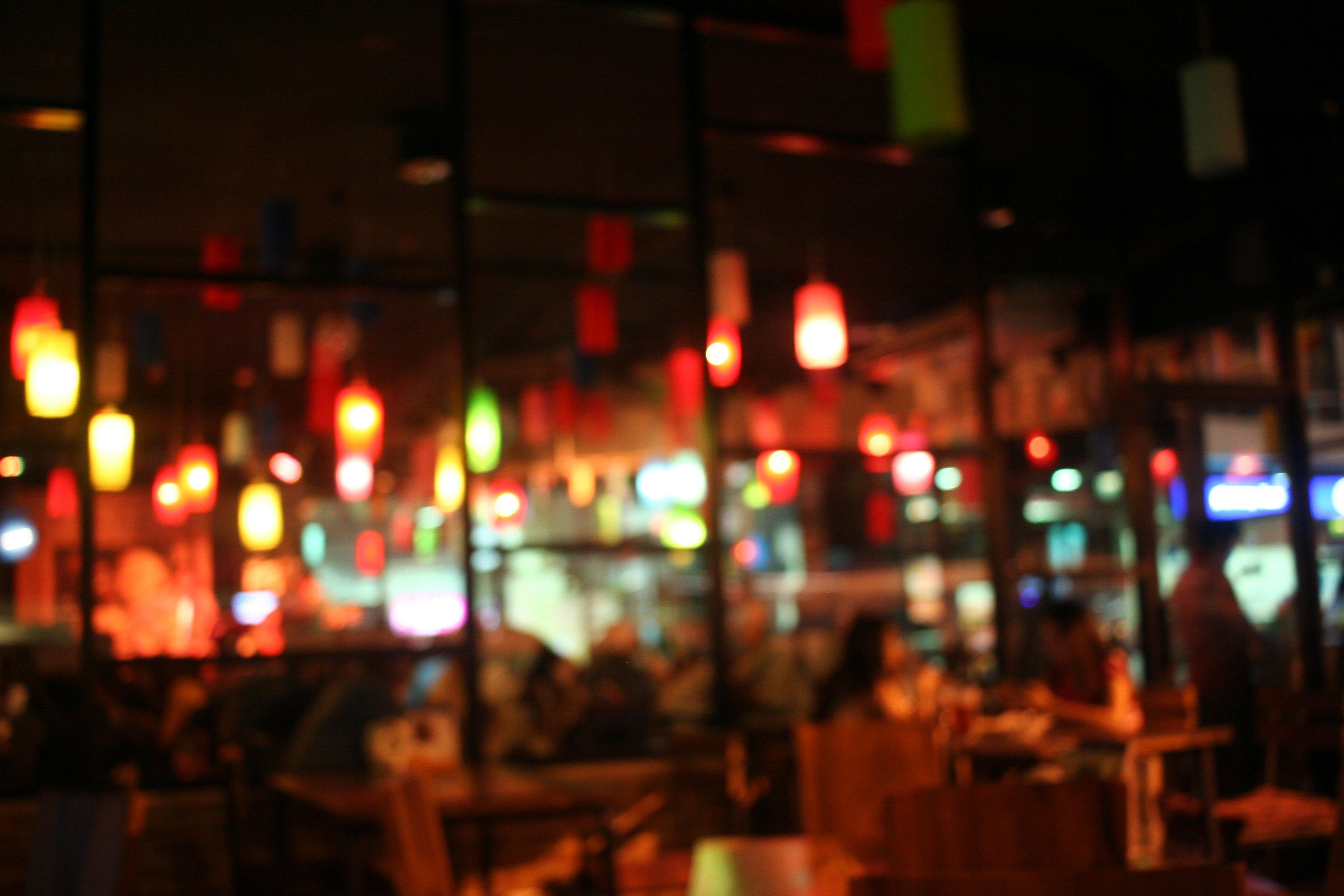 Blur Restaurant Background Abstract Photos Creative Market