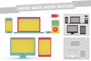 6 Paper Made Media Devices