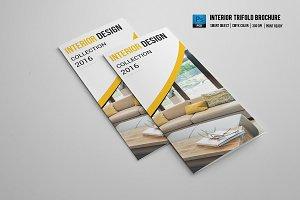 Trifold Interior Brochure - V528