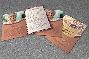 Funeral Program Template-V529