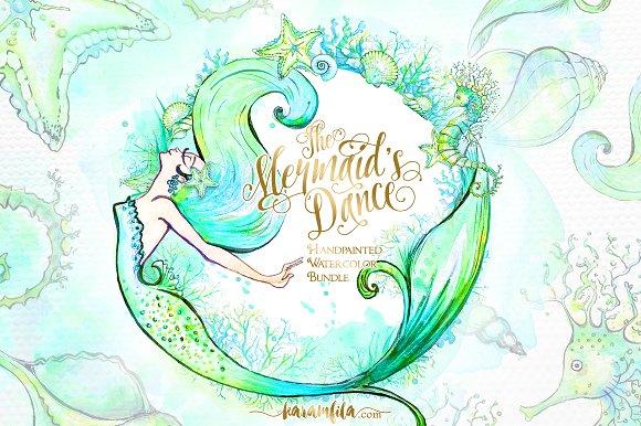 The Mermaids Dance Illustrations Creative Market