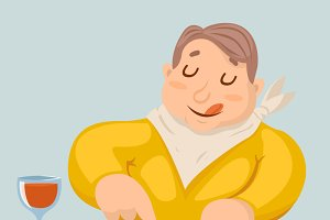 Fat Man Eat