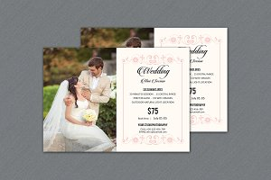 Wedding Mini Session Template -V315
