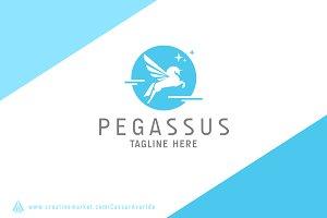 Pegassus Logo Template