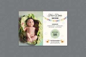 Newborn Mini Sessions Template-V316
