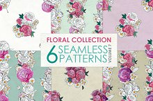 Floral Pattern Collection Vol. 7