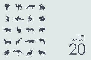 Mammals icons