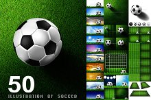 50 Illustration of soccer