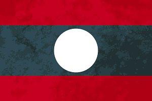True proportions Laos flag