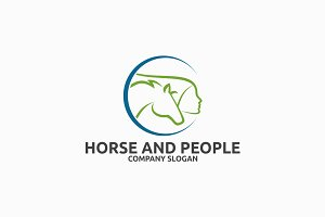 Horse and People Logo